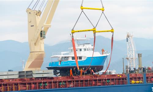 NORDHAVN 60/74 HAS BEEN LAUNCHED IN FETHIYE